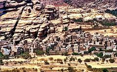 Wadi Dhar Yemen (gerard eder) Tags: world travel viajes reise asia middleeast yemen sanaa wadi dhar oldcity ancientcity skyline ancientskyline mountains montaas gebirge felsen rocks nature natur landscape landschaft paisajes