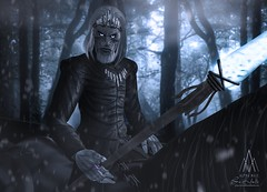 #270. The winter is here! (Gui Andretti) Tags: life male boys magic avatar guys medieval fantasy rpg second got walkers backbone roleplay nightsking winterfel gachaguardians