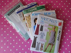 A few ideas (andreabailey50) Tags: new look studio clothing patterns sew simplicity kwik dressmaking mccalls grainline