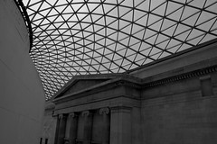 British Museum (lordofcondo) Tags: blackandwhite london d50 nikon britishmuseum 1855ii