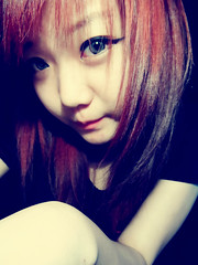 SKYLER'S (12) (LEECHINHWA l skyler) Tags: red cute girl beautiful hair doll pretty mask sweet russia gray korea korean lee kawaii spike uzbekistan chin skyler hwa pika lenses taki takumi bestface chinhwa ulzzang uljjang ohljjang leechinhwa