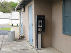 Verizon Pay Phone at Crows Woods (sameold2010) Tags: park new newjersey spring woods outdoor telephone nj payphone jersey crows verizon haddonfield 2013 verizonpayphone crowwoods
