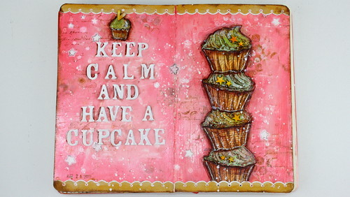 Art Journal: cupcake