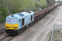 60074 eng train 6K50 toton crewe stenson juntion (railways.2011) Tags: trains db class railways freight 60 ews 60074