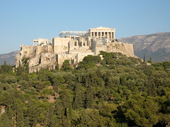 166 - Acropolis from the west (Scott Shetrone) Tags: forest other scenery events places athens parthenon greece monuments acropolis 5th anniversaries