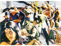 silver_age_jla800 (Green-Lantern2814) Tags: dc justiceleague alexross jla