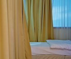 croatia (Katarina Sulajova) Tags: yellow analog 35mm hotel bed croatia dubrovnik