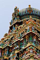 (Karthikeyan.Chinnathamby) Tags: color colors canon temple divine madurai karthikeyan kopuram temole 55250mm chinnathamby koodalalagar