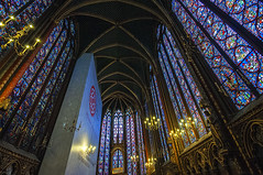 Sainte-Chapelle Interior 2 (bvi4092) Tags: travel paris france building church window architecture photoshop nikon worship europe interior religion sigma chapel stainedglass ceiling stained 1020 saintechapelle sigma1020 d300s