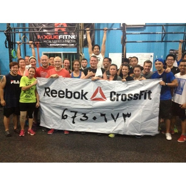 Hosting Joshua from @ternioncrossfit at #reebokcrossfit673