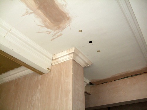 Plasterwork at Hendon Town Hall