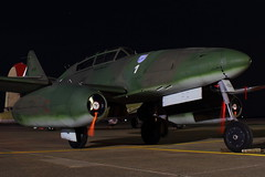 Messerschmitt Me-262 Schwalbe (iamsam2407) Tags: world 2 up night start flying war texas bell shots smoke jet foundation vietnam huey helicopter b17 ii consolidated boeing fortress denison liberator sherman b24 radial messerschmitt schwalbe uh1 collings me262 kgyi