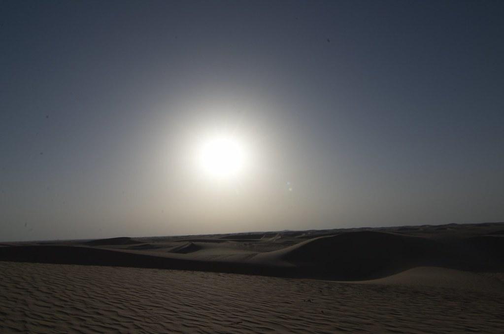 фото: The white sun of the desert