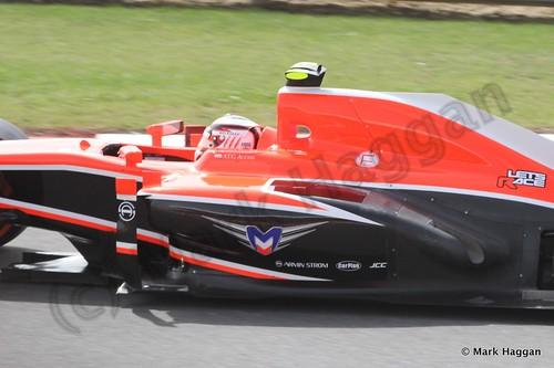 Max Chilton in Free Practice 3 at the 2013 British Grand Prix
