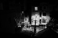 Street Conner ! (Mac Vincente   ® ©) Tags: street bw white black night buildings landscape photography mac and hanoi macphotography macphuc macluckystar macphotoography macfotographer macvincente