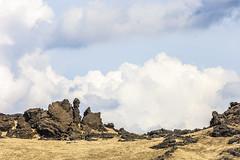 Shouting (LaStef) Tags: sky clouds lava iceland ash tephra pyroclasts skjufer