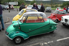Bubble car rally  in Aberfoyle. (tormentor4555) Tags: car rally bubble aberfoyle