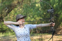 "Johanna takes aim • <a style=""font-size:0.8em;"" href=""http://www.flickr.com/photos/27717602@N03/9579531594/"" target=""_blank"">View on Flickr</a>"