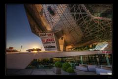 911 - the good one (Kemoauc) Tags: art museum architecture sunrise nikon stuttgart 911 porsche hdr topaz photomatix d300s kemoauc