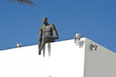 Santorini -Thira (rupertalbe - rupertalbegraphic) Tags: greek mediterraneo flag santorini greece alberto grecia oia thira mariani isola cicladi perissa ciclades emborion rupertalbe rupertalbegraphic
