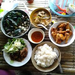 อาหารเย็นแบบไทยๆ