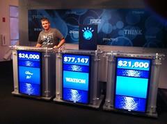 Jeopardy vs Watson Computer History Museum
