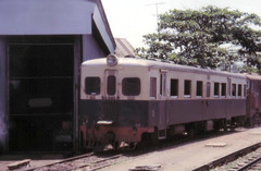 Once upon a time - Thailand - Ban Laem Station (railasia) Tags: thailand workshop eighties infra srt motorcar teikoku samutsakhon metergauge banlaemstation meaklonglines
