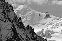 (Josh Thompson) Tags: snow mountains alps hiking chamonix 70300mmf4556gvr grandbalconnord lightroom3 d7000