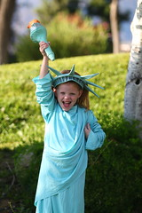 Into costumes (Four Straites) Tags: halloween costume reagan wilson statueofliberty georgewashington ladyliberty