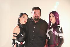 Cosplay Shoot BTS (PatLoika) Tags: costumes photoshoot cosplay xmen marvel behindthescenes marvelcomics cosplayers bts psylocke lindale jaytablante costumeshoot meredithplacko vampybitme cosplayshoot