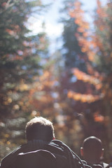 untitled (brightside-photography) Tags: camping david mountains tree fall leaves rock landscape quebec hiking climbing val mountaineering ropes climber vision:food=058