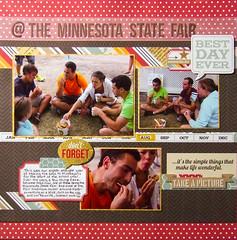 LOAD1013 Day 19 - @ the Minnesota State Fair (mfortunato6) Tags: travel family food minnesota traditions load19