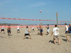Tivoli Group 067 (jlastwood) Tags: 2002 summer people toronto beach sport work tivoli picnic volleyball janet ashbridgesbay royalbank rbc astwood ashbridge esd