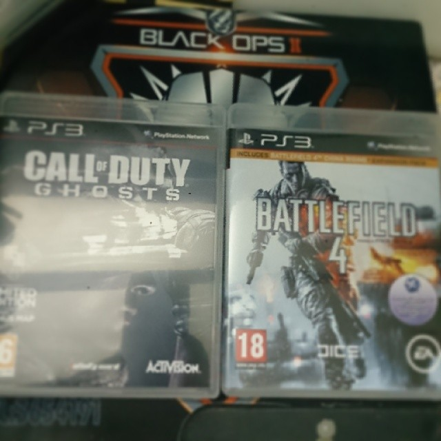 شريتهننن #call_of_duty #ghosts #cod10 #battlefield4 #ps3