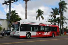 MTS Bus (So Cal Metro) Tags: bus sandiego metro uptown 600 transit mts hillcrest sandiegotransit newflyer rt11 c40lfr bus619
