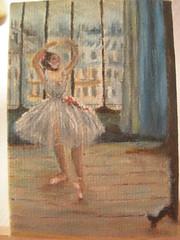 ballerina dal fotografo-Degas