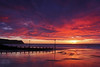 An Awesome Sunset! (John Ibbotson (catching up!)) Tags: sunset sea sun colour beach wales night clouds coast seaside cloudy ceredigion borth