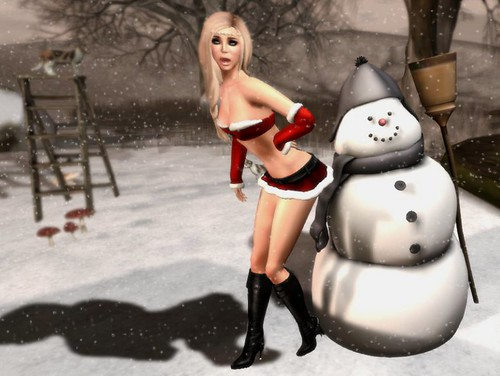 Frosty The Naughty Snowman...