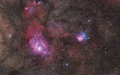 Ultimate-Galaxy-Stars (GurshobitBrar) Tags: blue red galaxy planets newworlds