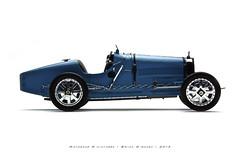 Bugatti 1924 Type 35 (T35) (Motorcar Miniatures) Tags: type 35 bugatti 118 1924 cmc diecast t35