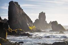 Ese mar que tranquilo nos baa - Llico Bajo (Patagonia - Chile) (Noelegroj (3 million views!)) Tags: chile sky patagonia seascape luz clouds rocks waves paisaje cielo nubes olas marino rocas ligh oceanopacifico lakedistric oceanpacific rocosa coastalview regiondeloslagos llicobajo vistacostera