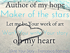 Francesca Battistelli - Write Your Story (stuckfoabuck2010) Tags: new being francesca honest story your single if were write ccm lyric 2014 battistelli