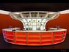 The orange bar (Just me, Aline) Tags: orange holland netherlands architecture modern bar utrecht nederland architectuur oranje mediaplaza haveadrink