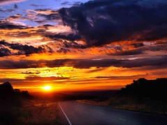 Utah Wilderness Dawn (saxonfenken) Tags: road clouds sunrise dawn utah wildeness 7042 favescontestwinner thechallengefactory yourockwinner pregamewinner 7042sun