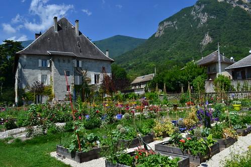 Le Château des Allues, qui accueille les écrivains en résidence