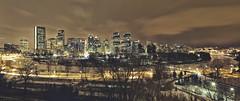 Calgary feb 27 Skyline (John Andersen (JPAndersen images)) Tags: winter calgary skyline alberta bowriver 1635mmf28lii canon6d jpandersenimages calgaryprincesisland calgaryskylinenightcoldclouds