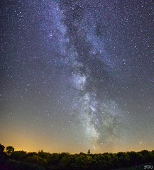 Summer Memorie (JbGinioux) Tags: longexposure light wild summer sky panorama france tree nature night stars photography photo nikon flickr view walk lumire tripod picture panoramic tokina explore trail ciel galaxy astrophotography astronomy universe nuit etoile starry auvergne dreamscape milkyway sauvage cantal longexposition voielacte tokina1116mmf28 atx116prodx nikond7000 august2013