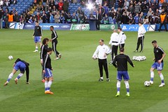 Chelsea Warm Up - 4 (gary8345) Tags: london training football oscar chelsea soccer warmup championsleague chelseafc 2014 footballers samueletoo davidluiz garycahill csarazpilicueta