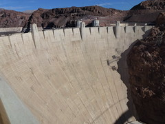 Hoover Dam (WenDem) Tags: travel arizona water concrete photography power nevada photoblog hooverdam lakemead coloradoriver electricity monuments tours miracles vacations fdr travelblog herberthoover dams thirdagetraveler