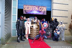 Screen Con 2014 (spikeybwoy - Chris Kemp) Tags: costumes startrek dc starwars costume cosplay celebration convention superhero characters sciencefiction dccomics marvel marvelcomics screencon huntertoys